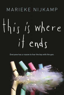 Cover of Marieke Nijkamp's book This Is Where It Ends