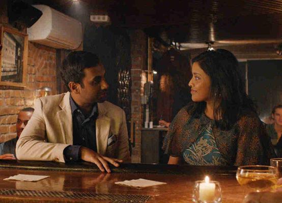 Still of Aziz Ansari and Tiya Sircar in Master of None season two, episode four