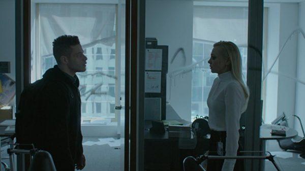Still of Rami Malek and Portia Doubleday in Mr Robot season three, episode five
