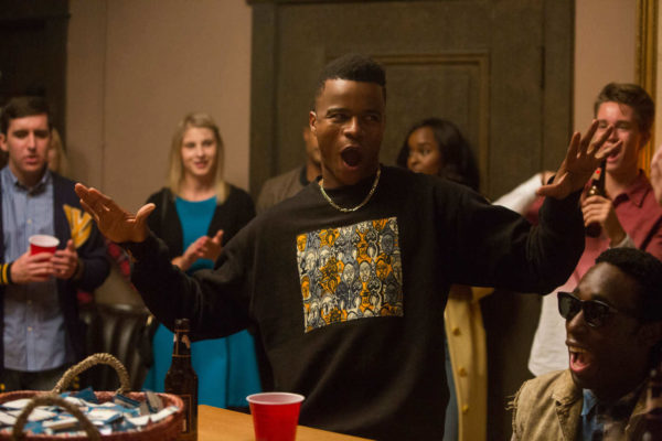 Still of Marque Richardson in Dear White People season one, episode five