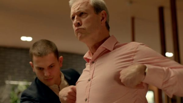 Still of David Roberts in Please Like Me season four, episode four