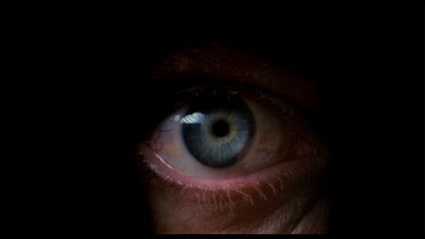 A close-up of an eye