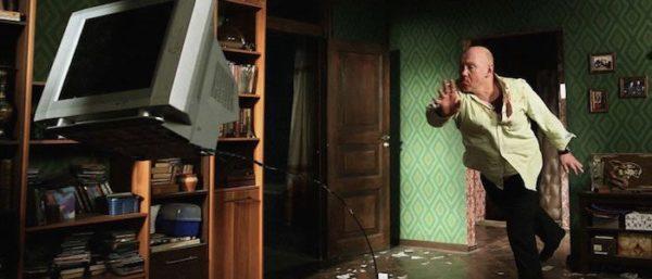 Vitaliy Khaev's Andrey throws a TV