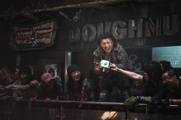 Sgt. Hwang (Kim Min-jae) yells at gamblers